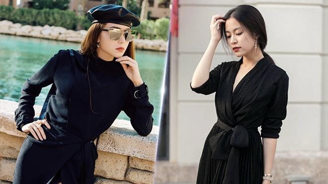 Street style cua Hoang Thuy Linh, Minh Hang dep nhat tuan qua hinh anh
