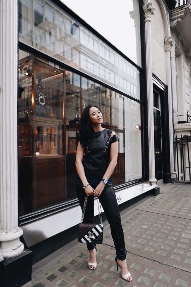 Fashionista Viet xuat hien tren Vogue tai tuan le thoi trang Paris hinh anh 5