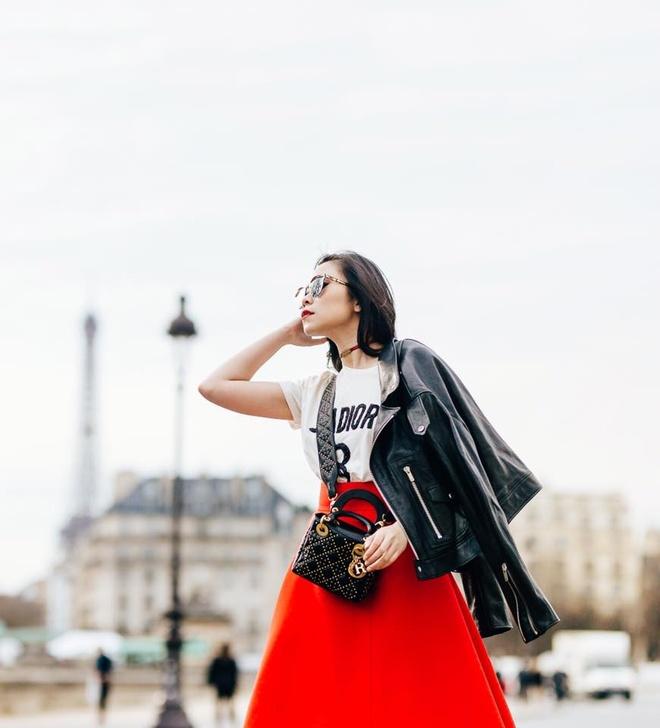 Fashionista Viet xuat hien tren Vogue tai tuan le thoi trang Paris hinh anh 8