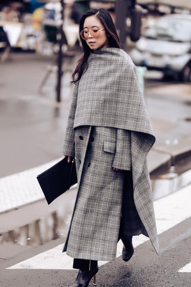 Fashionista Viet xuat hien tren Vogue tai tuan le thoi trang Paris hinh anh 2