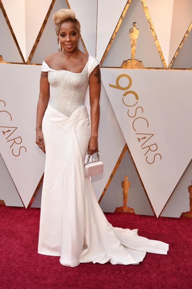 My nhan Hollywood long lay tren tham do Oscar 2018 hinh anh 18