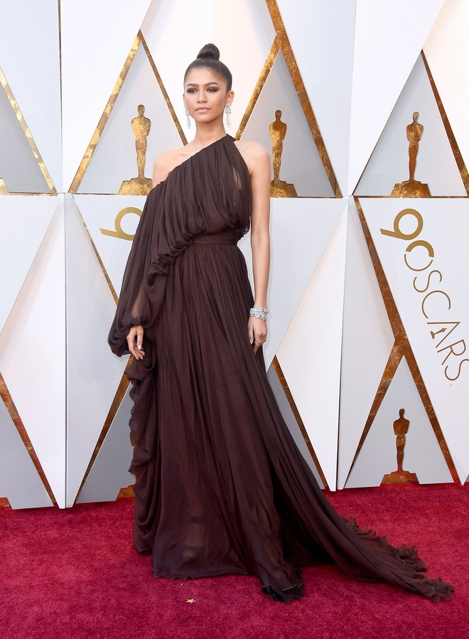 My nhan Hollywood long lay tren tham do Oscar 2018 hinh anh 14