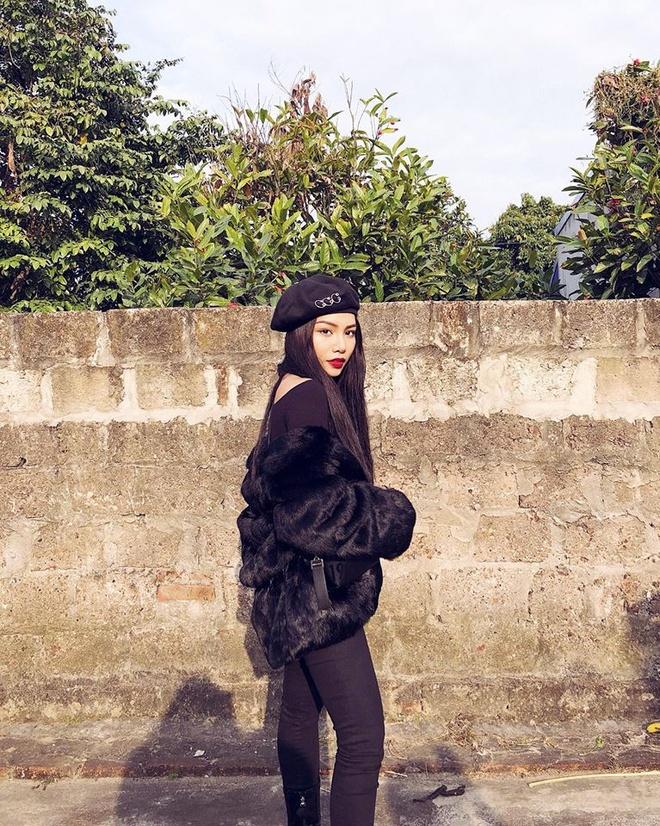Street style sao Viet: Bao Anh dien do ca tinh sau khi cat toc ngan hinh anh 9