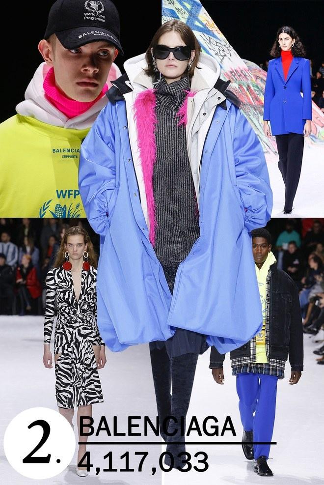 Show dien dau nhan tao cua Gucci duoc xem nhieu nhat tren Vogue hinh anh 2