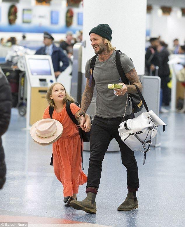 Tu do hieu cua con gai 7 tuoi nha Beckham hinh anh 9