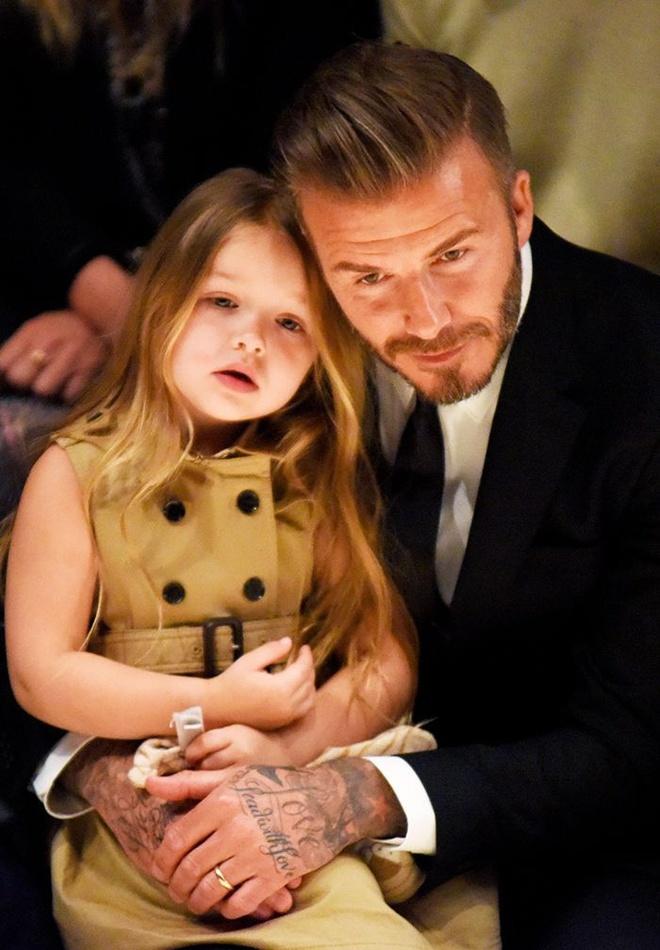 Tu do hieu cua con gai 7 tuoi nha Beckham hinh anh 1