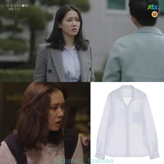 Boc gia hang hieu cua Son Ye Jin trong 'Chi dep mua com ngon cho toi' hinh anh 5
