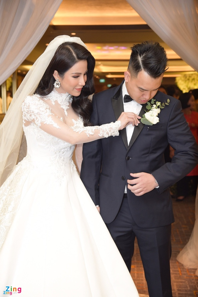Vay cuoi 120 trieu dong cua Diep Lam Anh anh 2