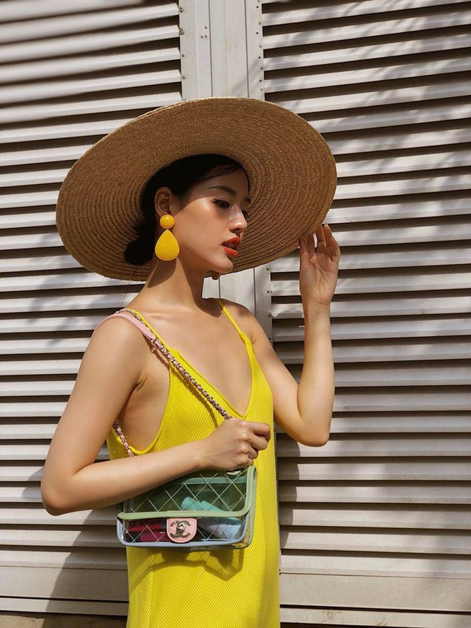 Khanh Linh The Face: Hot girl sanh dieu voi loat do hieu dat do hinh anh 4