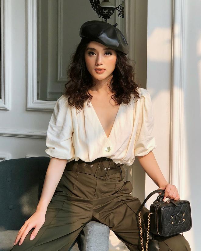 Khanh Linh The Face: Hot girl sanh dieu voi loat do hieu dat do hinh anh 6