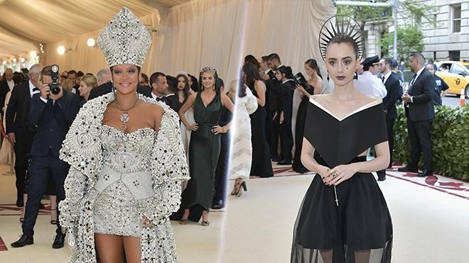Tham do Met Gala 2018: Rihanna gay chu y khi bien thanh giao hoang hinh anh