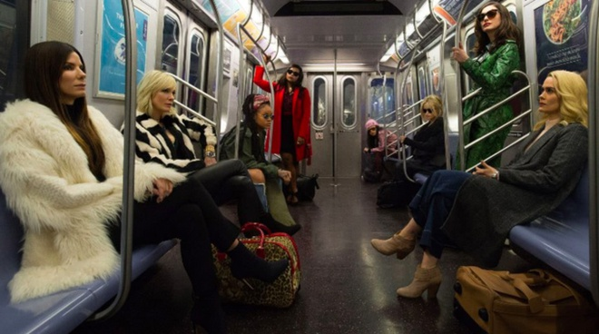 Cate Blanchett quyen luc voi loat do menswear trong 'Ocean's 8' hinh anh 1