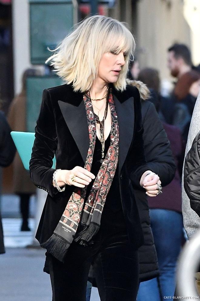 Cate Blanchett quyen luc voi loat do menswear trong 'Ocean's 8' hinh anh 5