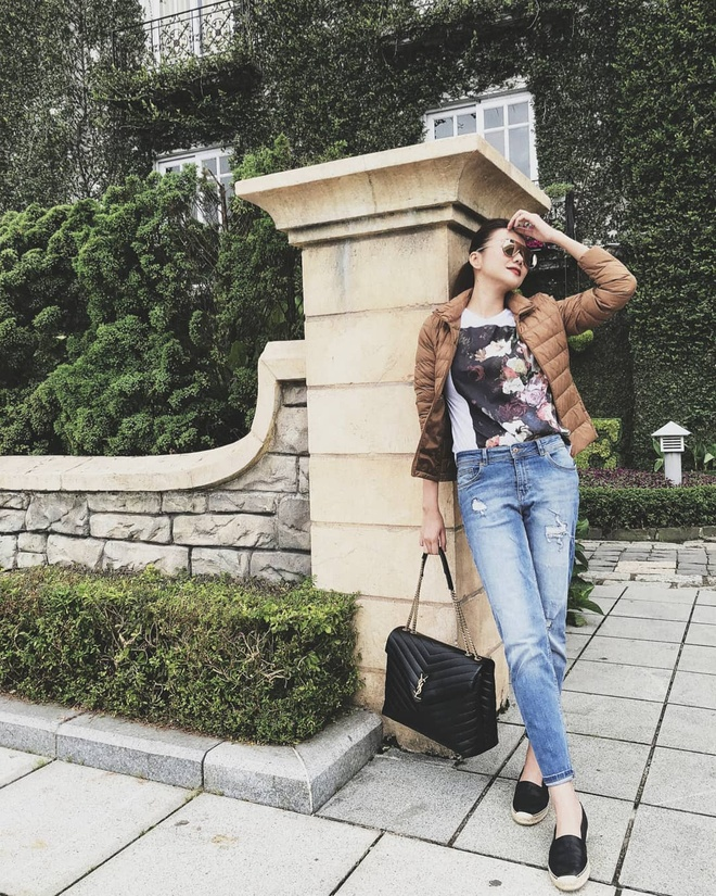 Sao Viet phoi trang phuc street style cung tui xach hang hieu ra sao? hinh anh 1