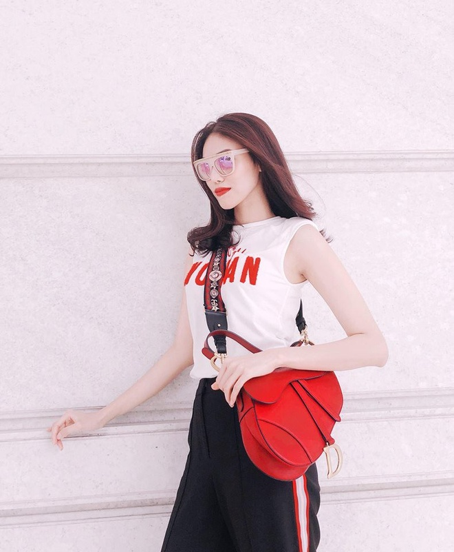Sao Viet phoi trang phuc street style cung tui xach hang hieu ra sao? hinh anh 3