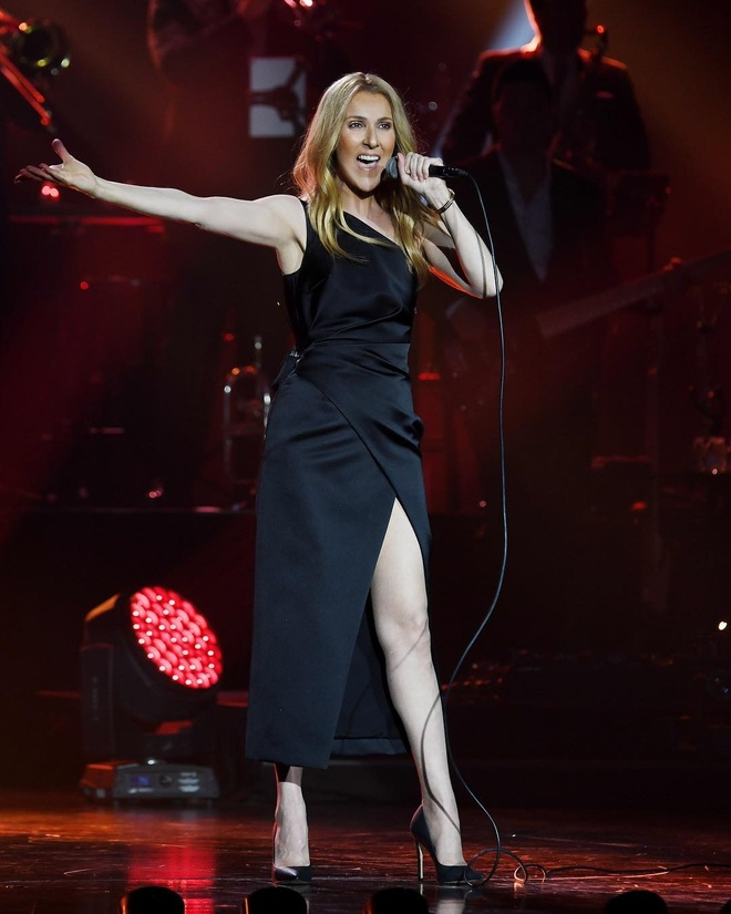 Nhung bo canh tre trung cua Celine Dion trong tour dien am nhac 2018 hinh anh 7