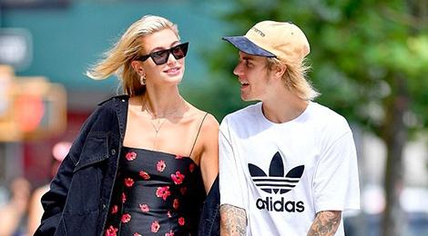 Xuat hien cung nhau, Justin Bieber va Hailey Baldwin an mac the nao? hinh anh