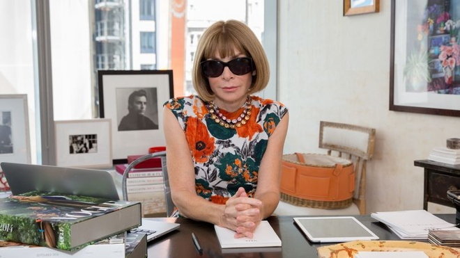 Anna Wintour tiep tuc lam viec tai Vogue My anh 1