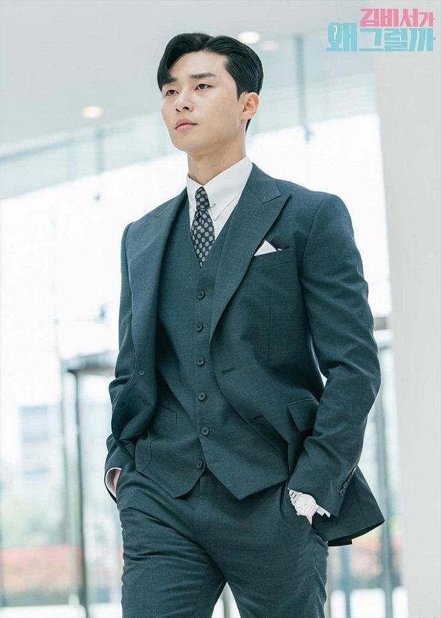 Thoi trang san bay sanh dieu cua 'Pho chu tich' Park Seo Joon hinh anh 1