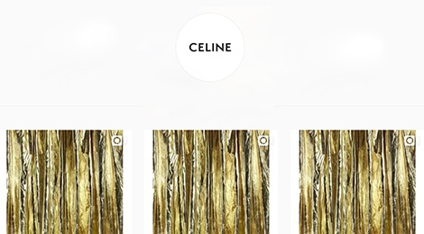 Den luot Celine thay doi logo, xoa sach hinh anh tren Instagram hinh anh