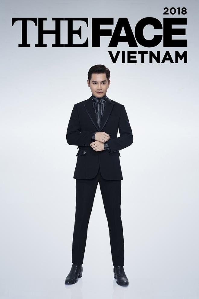 Host Nam Trung an mac khong thua kem dan HLV tai The Face 2018 hinh anh 1
