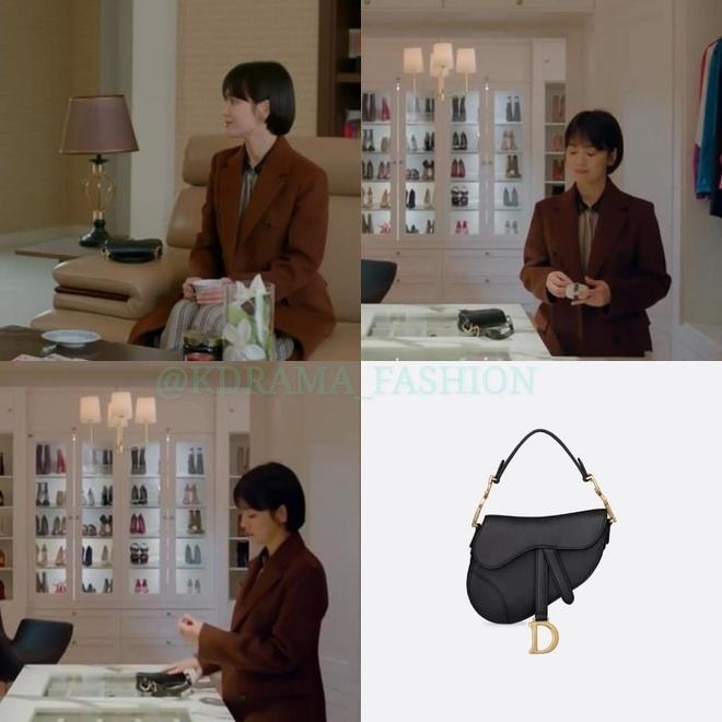 Vay ao, tui xach hang hieu dat do cua Song Hye Kyo trong 'Encounter' hinh anh 10