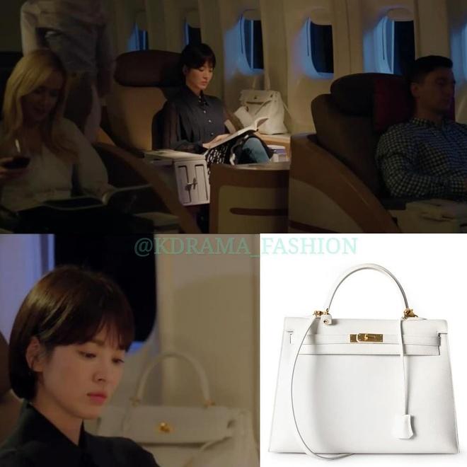 Vay ao, tui xach hang hieu dat do cua Song Hye Kyo trong 'Encounter' hinh anh 11