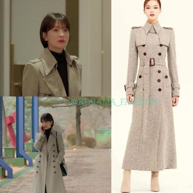 Vay ao, tui xach hang hieu dat do cua Song Hye Kyo trong 'Encounter' hinh anh 5