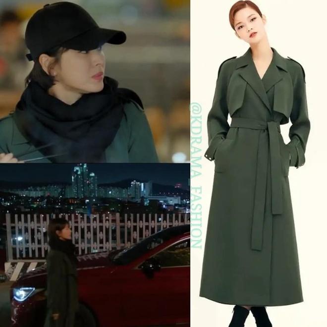 Vay ao, tui xach hang hieu dat do cua Song Hye Kyo trong 'Encounter' hinh anh 6
