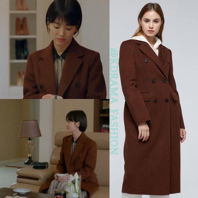 Vay ao, tui xach hang hieu dat do cua Song Hye Kyo trong 'Encounter' hinh anh 8