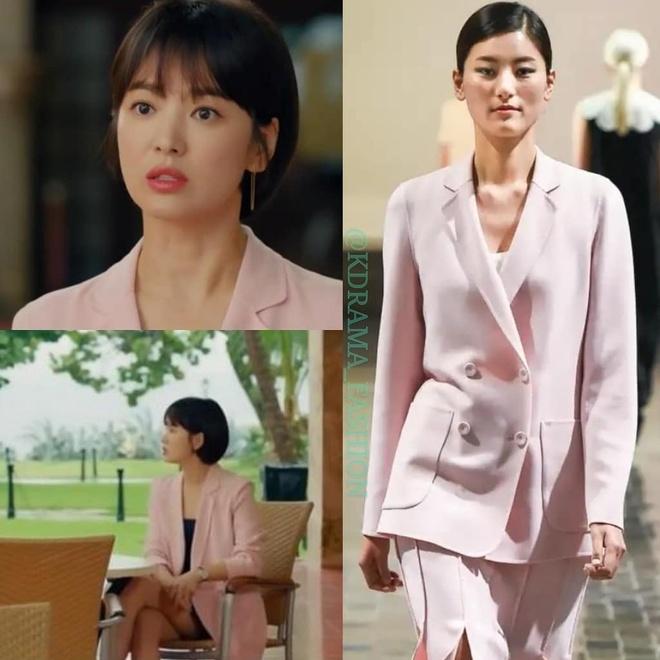 Vay ao, tui xach hang hieu dat do cua Song Hye Kyo trong 'Encounter' hinh anh 9