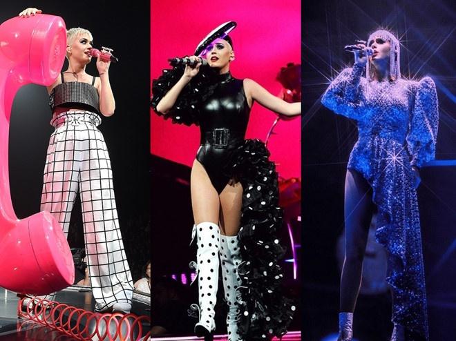 Katy Perry tiep tuc mac thiet ke cua Cong Tri trong MV 'Immoral Flame' hinh anh 2