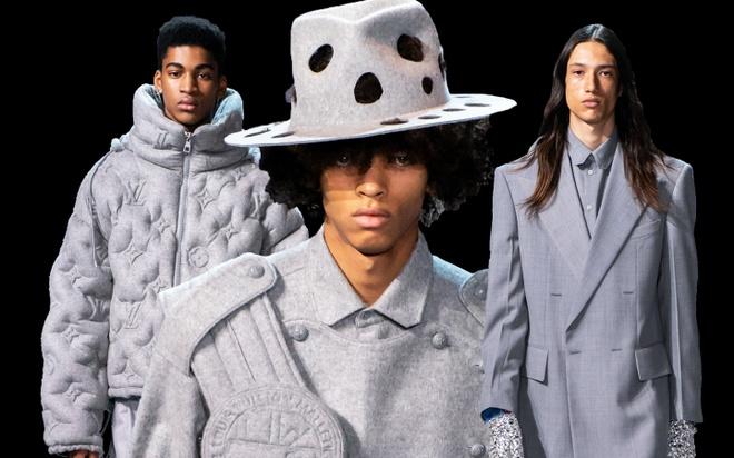 Michael Jackson an hien trong show dien thoi trang nam Louis Vuitton hinh anh