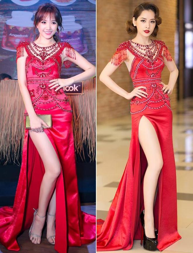 Hari Won mac lai vay cuoi cua Nha Phuong de di du su kien? hinh anh 8
