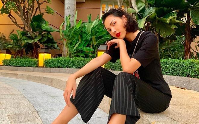Thanh Hang, Ky Duyen va Minh Trieu dong dieu trang phuc street style hinh anh