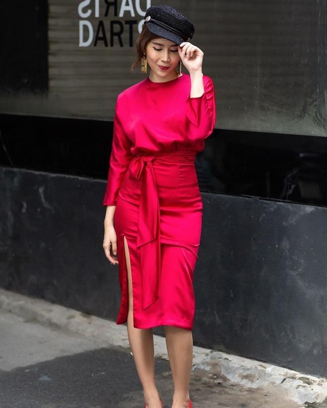 Thanh Hang, Ky Duyen va Minh Trieu dong dieu trang phuc street style hinh anh 6