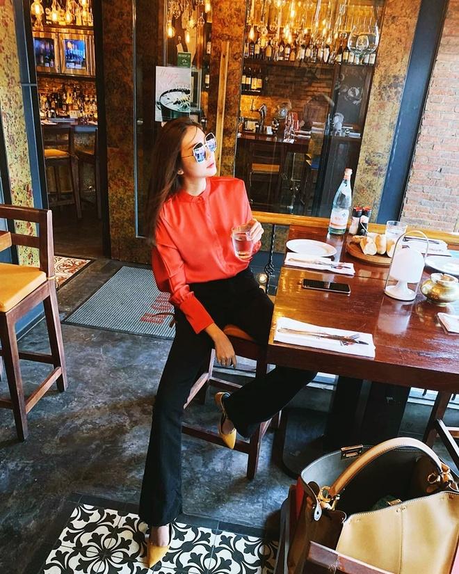 Thanh Hang, Ky Duyen va Minh Trieu dong dieu trang phuc street style hinh anh 1