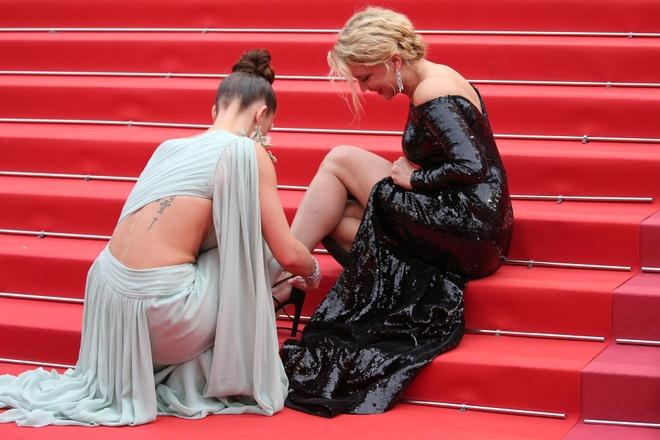 Nhung su co trang phuc dang tiec cua dan nguoi dep tai Cannes 2019 hinh anh 8