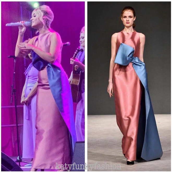 Thêm một nhà mốt Việt được lòng nữ ca sĩ Katy Perry