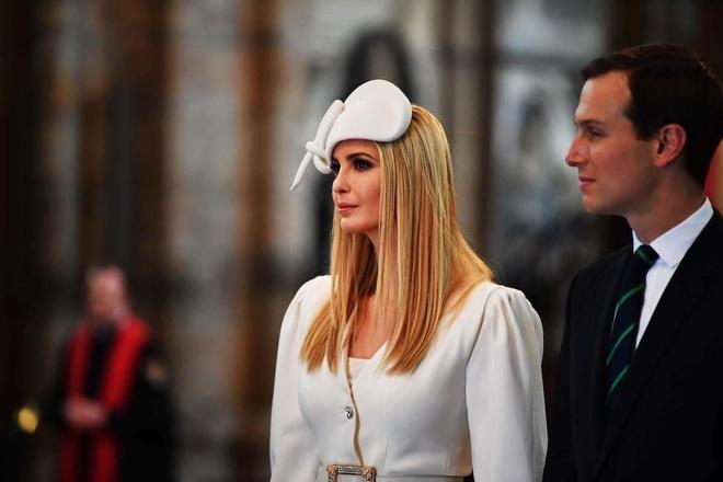 Loạt hàng hiệu đắt giá của Ivanka Trump trong chuyến công du Anh