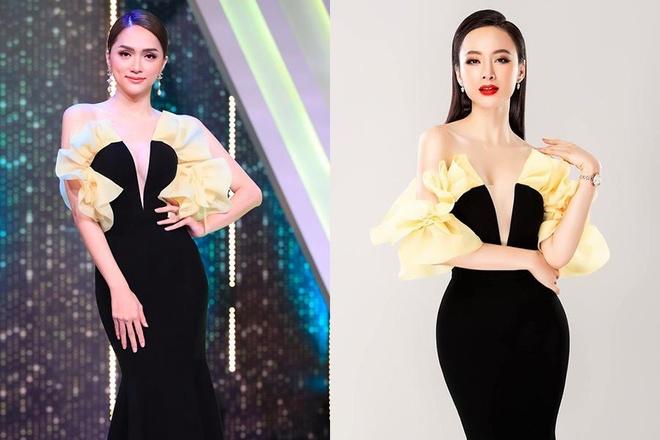 Sự khác biệt của các sao Việt khi đụng hàng trang phục