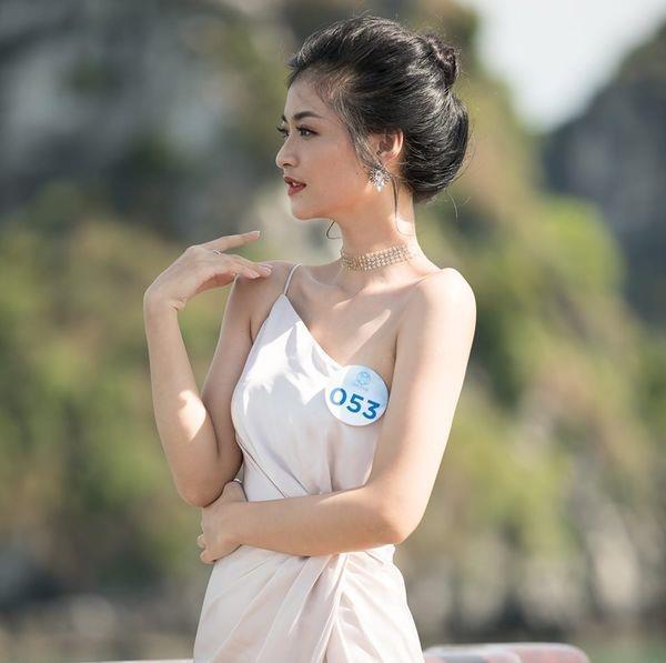 Khong theo style goi cam, A hau 1 Kieu Loan doi thuong rat gian di hinh anh 3