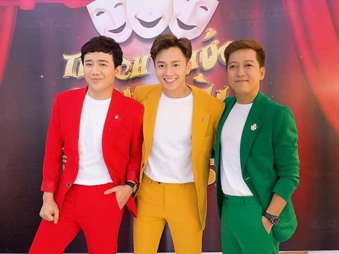 Tran Thanh va Truong Giang lam phi cong, tho dien tren truyen hinh hinh anh 1