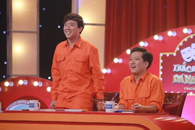 Tran Thanh va Truong Giang lam phi cong, tho dien tren truyen hinh hinh anh 3