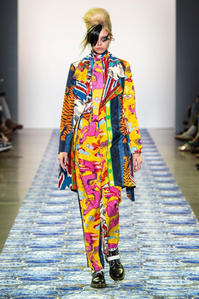 Lady Gaga mac do style Trung Quoc, xuat hien tren san catwalk? hinh anh 1