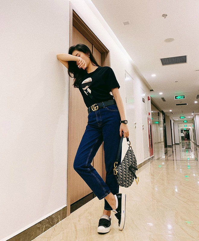 Bi quyet phoi do voi quan jeans dep nhu Ha Tang va dan my nhan Viet hinh anh 13