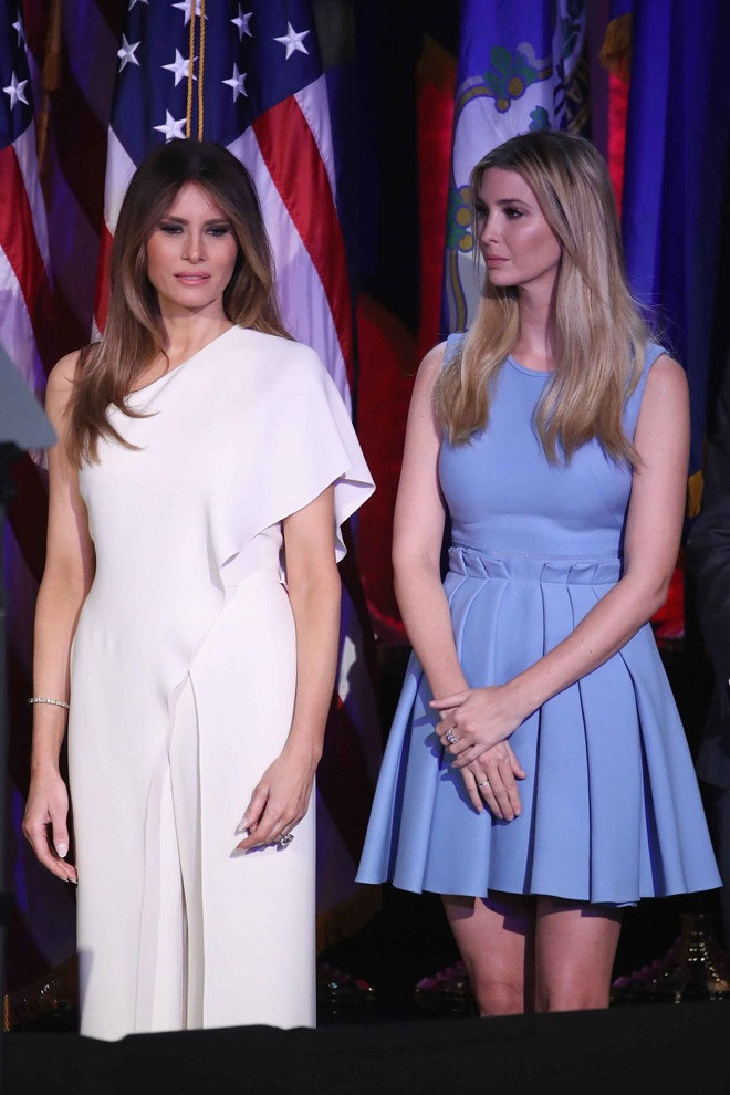 Truoc vu lo nguc, Ivanka Trump mac do ra dang chinh tri gia the nao? hinh anh 9
