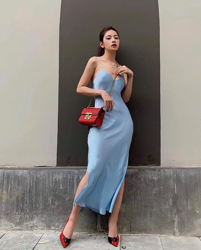 Cung dien do sexy: Linh Ka bi che gia, Chi Pu, Kaity duoc khen dep hinh anh 14