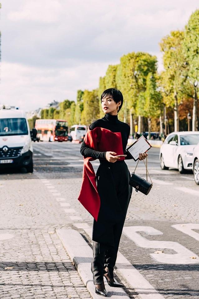 Chau Bui va Khanh Linh an mac the nao khi cung du show Louis Vuitton? hinh anh 9