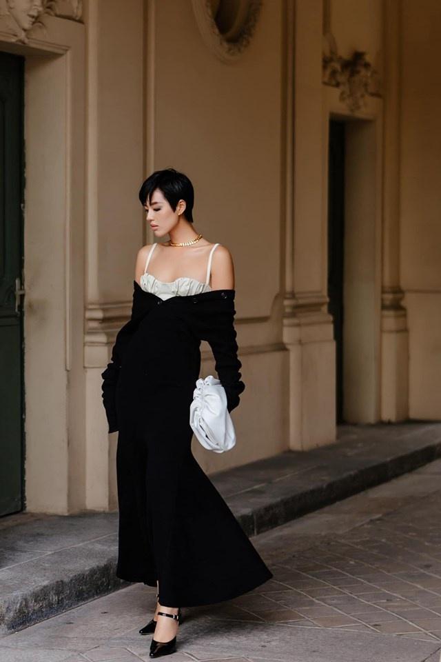 Chau Bui va Khanh Linh an mac the nao khi cung du show Louis Vuitton? hinh anh 10